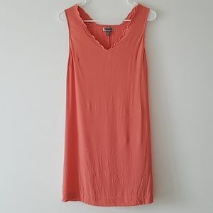 Chelsea28 coral crepe dress nordstrom